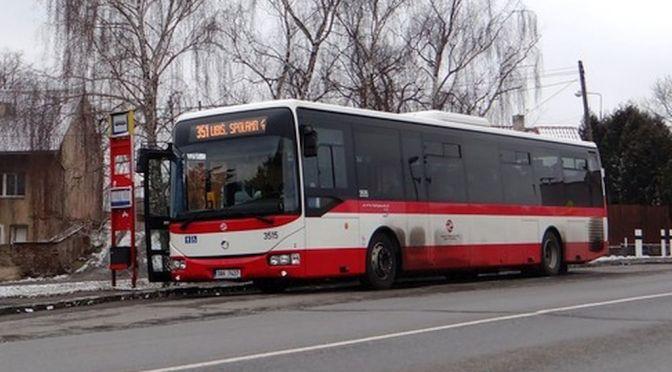 Prázdninový jízdní řád autobusové linky č.351