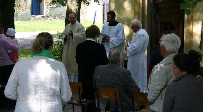 Posvícenská bohoslužba se uskuteční 7.září 2014