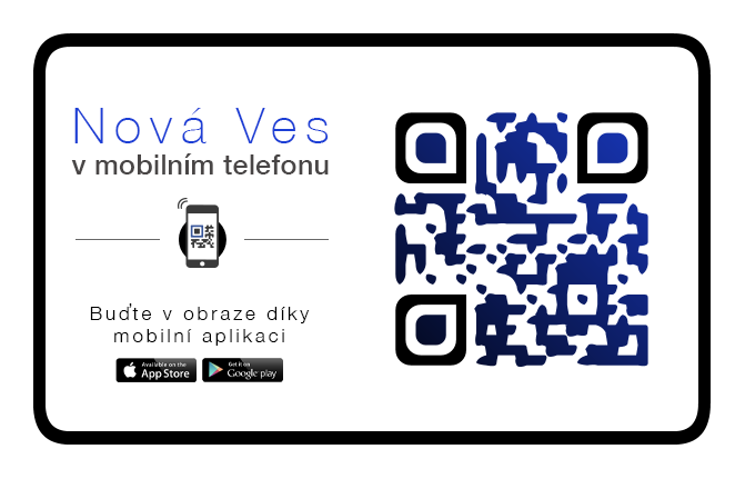QR kód aplikace Nová Ves