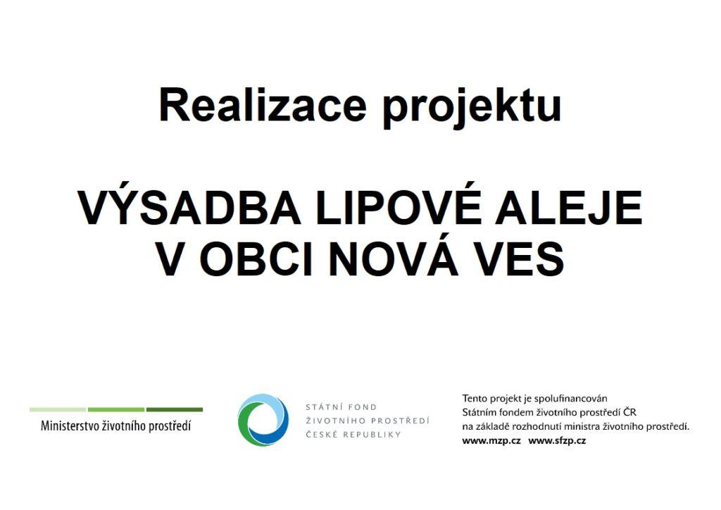 Nova Ves stromy publicita web